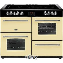 Belling Farmhouse 110E 110cm Electric Range Cooker With Ceramic Hob Cr 444444150