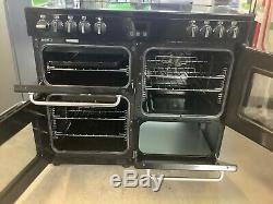 Belling SANDRINGHAM100E 100cm Electric Range Cooker with Ceramic Hob #RW16881