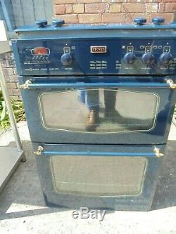 Blue Heritage Stoves Insert Electric Double Oven & Separate Ceramic Hob 600 EZH