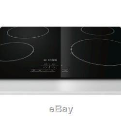 Bosch PKE 611B17E Built-in Black Frameless Ceramic Kitchen Hob New