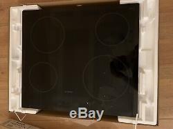 Bosch PKE611B17E Built-in Black Frameless Electric Ceramic Kitchen