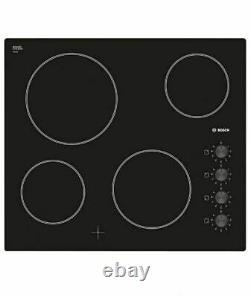 Bosch PKE611C17E Ceramic Hob Black 4 Burners Kitchen Appliance Cooking Home