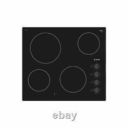 Bosch PKE611CA1E 60cm Ceramic Hob in Black