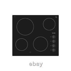 Bosch PKE611CA1E Serie 2 4 Zone Ceramic Glass Integrated Electric Hob in Black