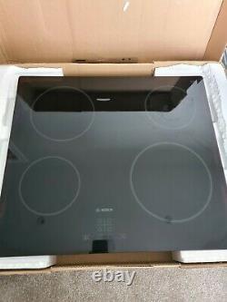 Bosch PKE611D17E 4 Burner Black Glass Electric Ceramic Hob