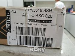 Bosch PKE611D17E Serie 4 59cm 4 Burners Ceramic Hob Electronic Display Touch