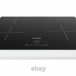 Bosch PUE611BF1B 592m Induction Hob with 4 Cooking Zones in Black