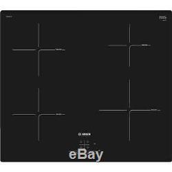 Bosch PUE611BF1B 60cm Induction Hob in Black 13 Amp Plug/Play 2 Year Warranty