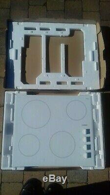 Bosch White Ceramic Hob PKE652CA1E