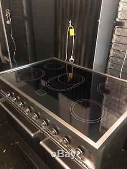 Britannia 90 CM Fully Electric Range Double Oven With Ceramic Hob