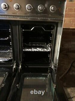 Britannia Range Electric Cooker. Ceramic 5 Ring Hob With Twin Fan Oven