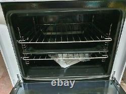 Bush 60cm Cooker RRP £250 -Freestanding Fan oven -Electric Ceramic Hob halogen