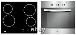 Bush LSBCHP Built In Electric Oven and Ceramic Hob Pack