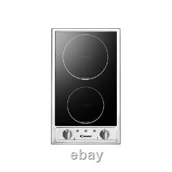 Candy CDH32/IX 29cm Built-in Domino Ceramic Hob Stainless Steel