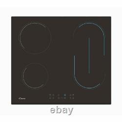 Candy CH64BVT 60cm Ceramic Hob LED, Touch Controls, Timers & Bridging Zone