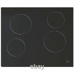 Cooke & Lewis Clcer60a Ceramic Hob Black 52 X 590mm 277gx