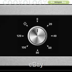 Cookology 60cm Built-in Fan Oven, S/Steel Electric Hob & Cooker Hood Pack