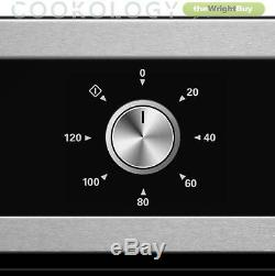 Cookology 60cm Stainless Steel Built-in Electric Fan Oven & Glass Gas Hob Pack