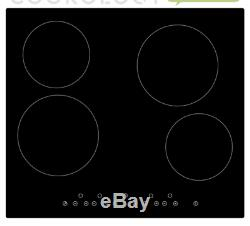 Cookology 72L Built-in Touch & Dial Electric Oven & 60cm Ceramic Hob Pack