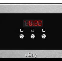 Cookology Digital 60cm Fan Oven, Touch Control Ceramic Hob & Cooker Hood Pack