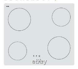 Cookology TCH602WH 60cm 4-Zone touch control Ceramic Hob in white