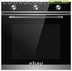 Cookology TOF600SS 72L Built-In Stainless Steel Oven & 60cm Ceramic Hob Pack