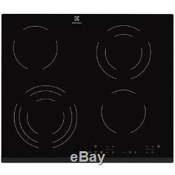 ELECTROLUX EHF6343FOK 60cm Bulit-in Electric Ceramic Kitchen Hob New