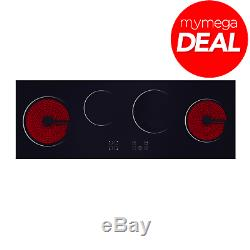 Econolux REF29152 100cm Touch Control Ceramic Hob with Timer and Child Lock