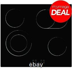 Econolux REF29231 60cm Ceramic Hob Touch Control Extended Zone