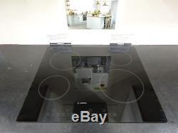 Ex Display Bosch Avantixx PKE611E14E Electric 4 Zone Ceramic Hob Black SCR