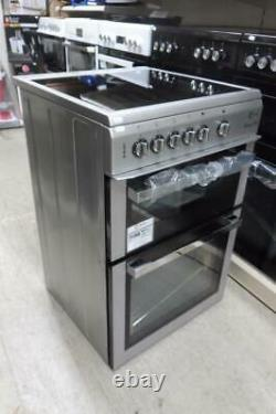 Flavel ML61CDS Milano Silver Electric Cooker Twin Cavity Ceramic Hobs 60cm PEC G