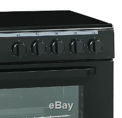 GRADED Servis SC900K 90cm Electric Range Cooker in Black Ceramic Hob