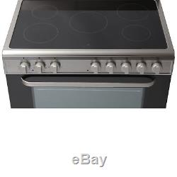 GRADED Servis SC900X 90cm Electric Range Cooker in Stainless Steel Ceramic Hob