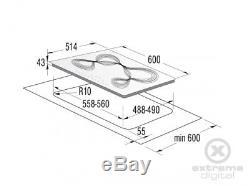 Gorenje IT65KR White Hob 60cm induction hob touch control + 5Yrs Wrty