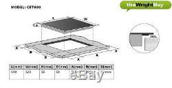 Gorenje Oven & Cookology Hob Pack, Built-under Double Oven & 60cm Ceramic Hob