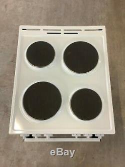 GorenjeB2B E5111WG Free Standing A Electric Cooker Ceramic Hob 50cm #RW16863