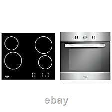 Gradedbush Electric Built In Oven With Ceramic Hob Lsbchp Stainless Steel