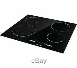 HISENSE E6432C Electric Ceramic Hob Black Currys