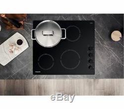 HOTPOINT HR 619 CH Electric Ceramic Hob Black Currys