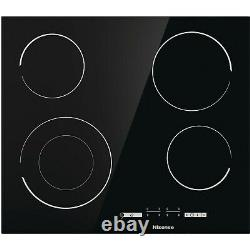 Hisense 60cm Touch Control 4 Zone Ceramic Hob With Double Ring Zone