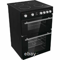 Hisense HDE3211BBUK Free Standing A+/A Electric Cooker with Ceramic Hob 60cm