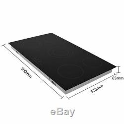 Hot Sell Home 65cm Touch Control 5Zone Electric Domino Ceramic Hob Cooker 8600W