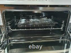 Hotpoint DSC60 Electric Cooker (Double Oven & Grill), ceramic hob, In White