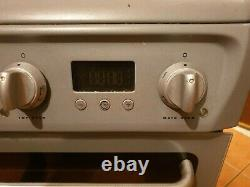 Hotpoint Dsc60s Free Standing Ceramic Hob Double Oven Cooker