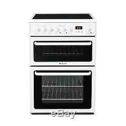 Hotpoint Freestanding HAE60PS 60cm Electric Cooker & Hob White