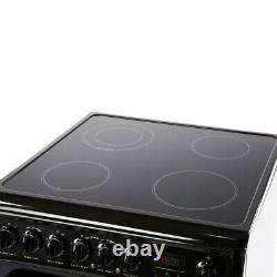 Hotpoint HAE60KS 60cm Electric Cooker Double Oven, Grill & Ceramic Hob