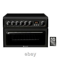Hotpoint HAE60KS Electric Cooker with Ceramic Hob Black