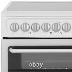 Hotpoint HARE60K Free Standing B/B Electric Cooker with Ceramic Hob 60cm Black