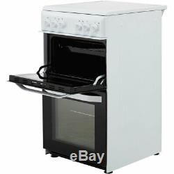 Hotpoint HD5V92KCB Cloe Free Standing A Electric Cooker with Ceramic Hob 50cm