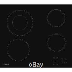 Hotpoint HR612CH 58cm 4 Burners Ceramic Hob Touch Control Black